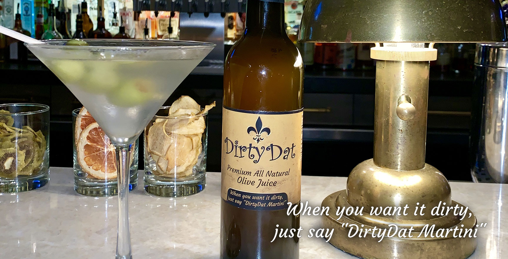 DirtyDat Premium All Natural Olive Juice